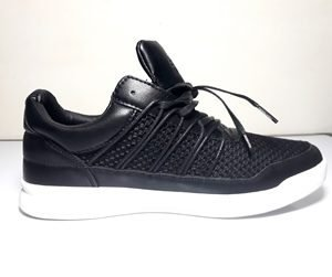 CrossHatch Mens Shoes Merak Trainers Black