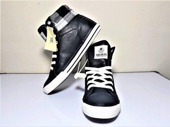 Soul Cal Men's Asti Hi Trainers Shoes