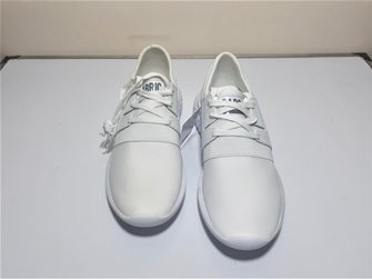 Fabric Men's Tussar Trainers White Shoes