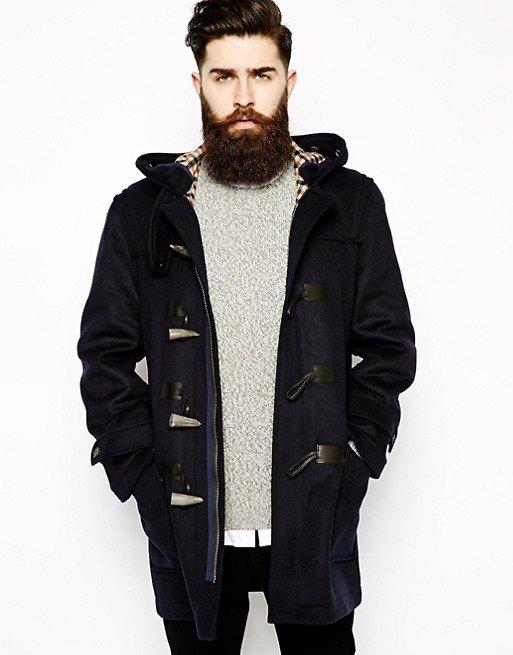Lambretta Men's Duffle Coat