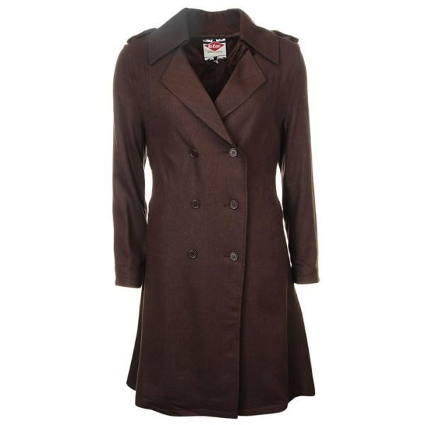 Lee Cooper Women's Trench Coat