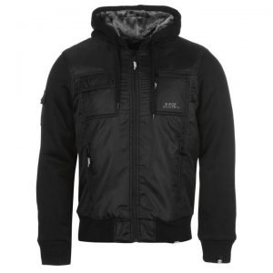 No Fear Men's Lined Zip Jacket