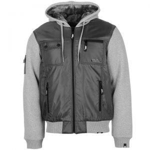 No Fear Men's Lined Zip Jacket