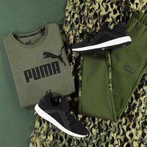 PUMA MEGA NRGY RUNNING TRAINERS SHOES